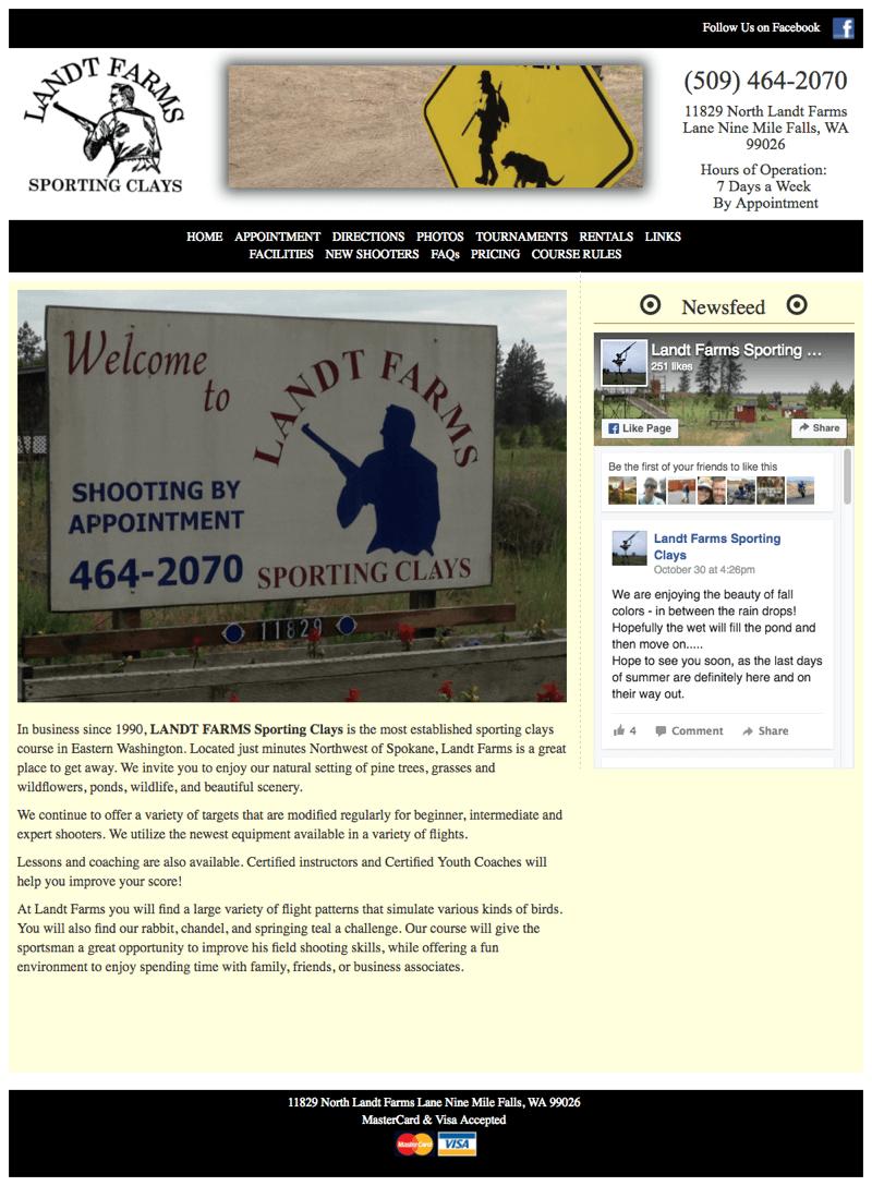 wordpress-design-Landt-Shooting-Farms-before